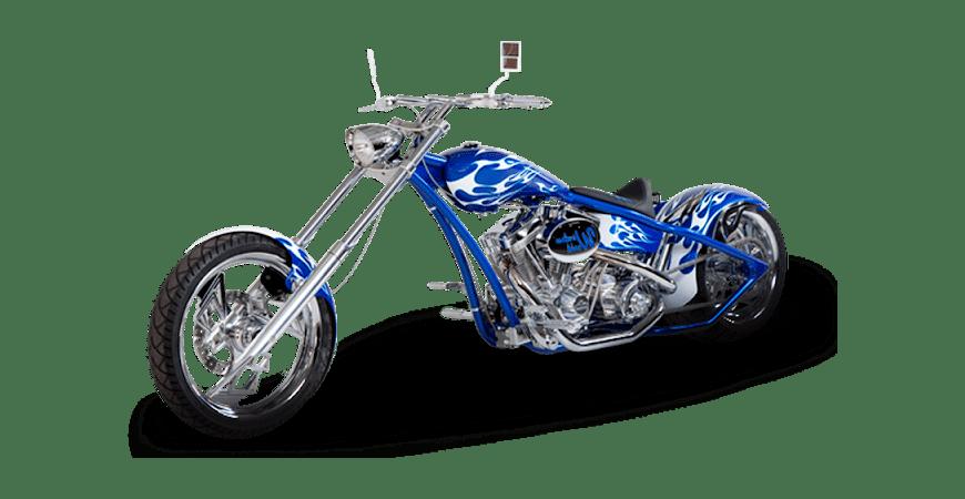 мотоцикл-слайд